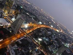 Blick von der Skybar im State Tower
