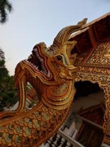 Drache im Wat Phra Singh