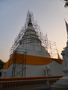 Tempelbaustelle