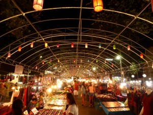 Night Bazaar in Chiang Mai