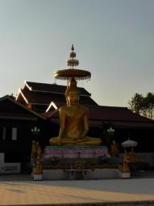Ein Tempel in Pai