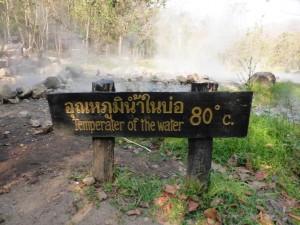 Hot Springs - 80°