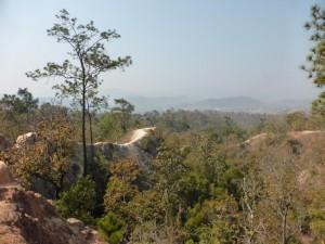 Der Canyon am Tage