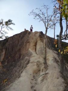 Wege zum Klettern im Canyon
