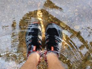 Kalte, nasse Füße (aber topp Schuhe)