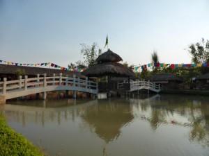Im chinesischen Dorf
