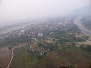 Vang Vieng von oben