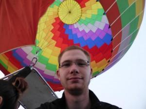Der Jan im Ballon