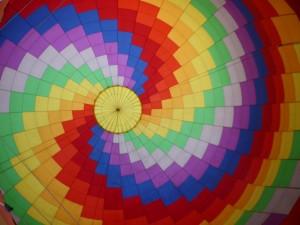 Regenbogenballon