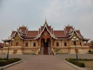 Tempel im Pha That Luang