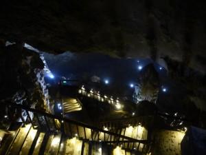 Ausblick vom Eingang der Paradise Höhle