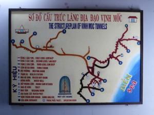 Übersicht der Vic Moc Tunnel