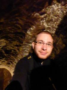 Ich in den Tunneln