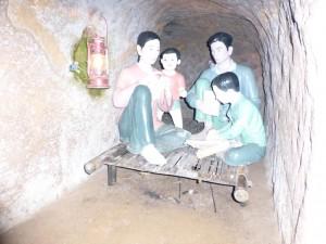 Höhle für eine Familie