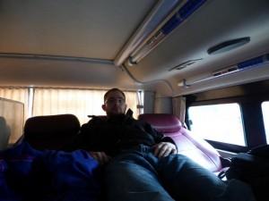 Ich im Bus nach Hue