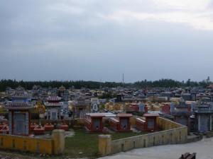 Ein vietnamesischer Friedhof
