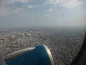 Saigon (HMC) aus der Luft