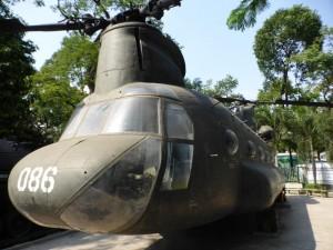 Transporthubscheiber im War Museum