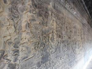 Geschichten in Stein (Angkor Wat)