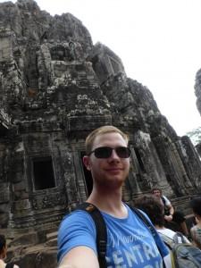 Bayon Tempel und ich
