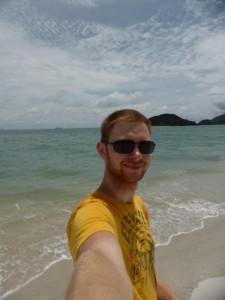 Der Jan am Strand