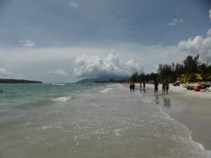 Pantai Celang Strand auf Langkawi