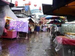 Es regnet in Chinatown