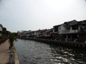 Der Melaka Fluss
