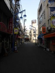 Unterwegs in Nishikawaguchi