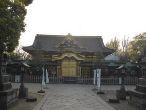 Tempel im Ueno-Park