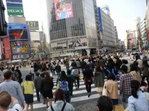 Shibuya - Diagonalkreuzung