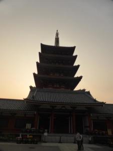 Der Senso-ji Tempel