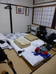 Unser traditionelles Zimmer in der Herberge