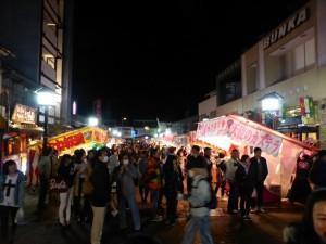 Hidakokufu - sieht aus wie ein Weihnachtsmarkt