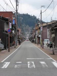 Stadtbild in Takayama