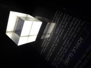 Dicke des Glases des größten Aquariums