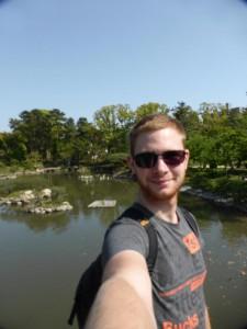 Ich im Shukkei-En-Park