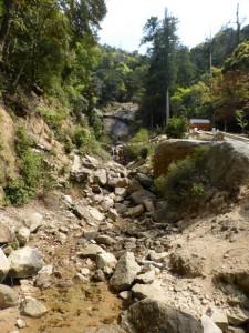 Flussbett beim Aufstieg zu Mt. Misen