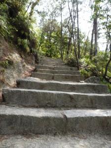 Aufstieg zu Mt. Misen