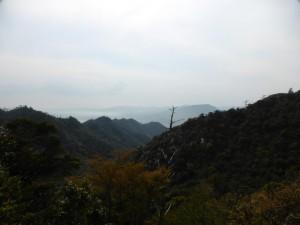 Blick vom Berg