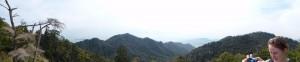 Panoramablick vom Berg Misen