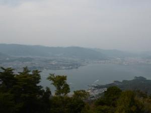 Blick auf Hiroshima vom Mt. Misen