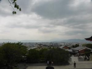Blick auf Kyoto vom Kiyomizu-dera