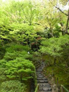 Märchenhaftewege im Ginkakujicho