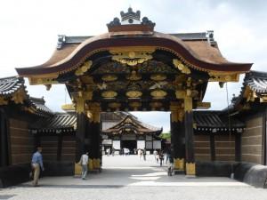 Tor in der Burg Nijo