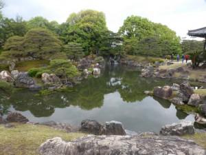Garten in der Burg Nijo