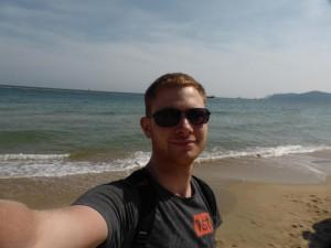 Ich am Strand :)