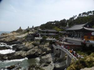 Der Haedong Yonggungsa Tempel
