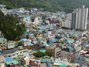 Blick auf Gamcheon