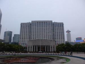 Der Sitz der Stadtverwaltung